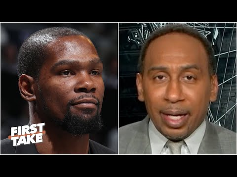 Stephen A. has no doubts about Kevin Durant's return this season | First Take