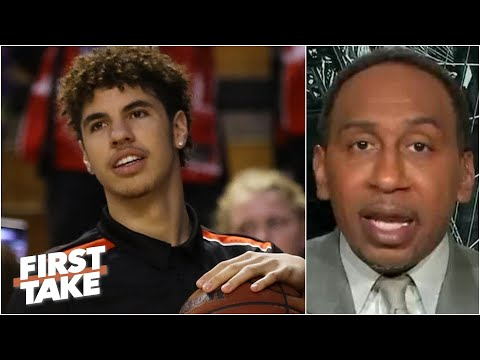 'You've got to be aggressive!' – Stephen A. on LaMelo Ball to the Hornets | First Take