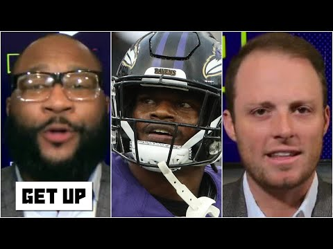 Marcus Spears & Greg McElroy disagree on Lamar Jackson's culpability in the Ravens' issues   Get Up