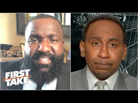 Kendrick Perkins tells 'miserable' Knicks fan Stephen A. to stop complaining | First Take