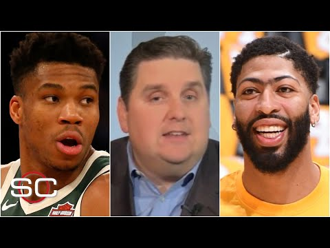 How Giannis signing a supermax extension with the Bucks could impact Anthony Davis' contract | SC