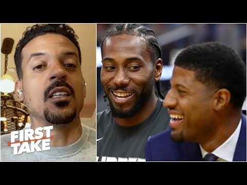 You can't give up on Paul George – Matt Barnes | First Take