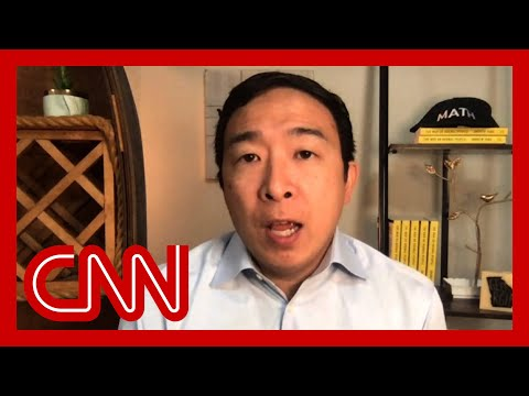 'Politics are why things aren't getting done': Andrew Yang on Covid-19 relief