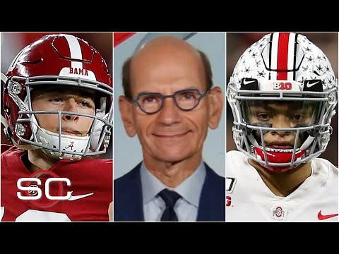 Paul Finebaum's Top 4 college football teams | SportsCenter