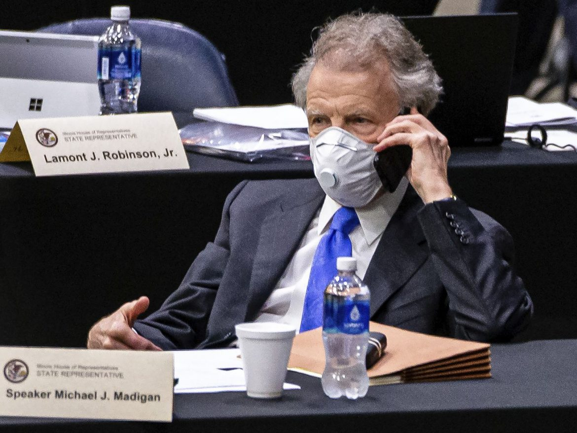 'Blood in the water?' Unfazed Madigan hits the phones, wary Democrats defect and potential successors jockey