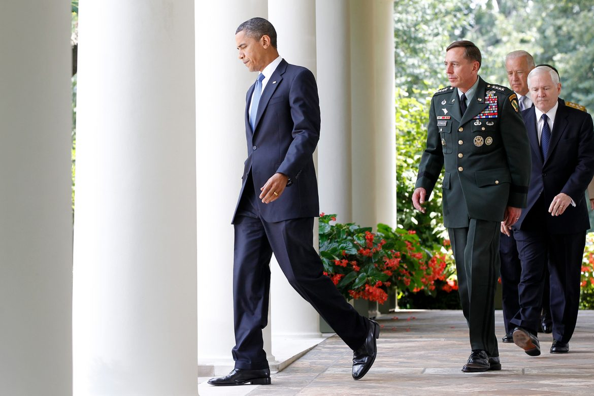 Obama Publishes Account of Firing Gen. McCrystal On the Same Day McCrystal Briefs Biden