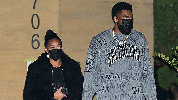 Jordyn Woods & Karl Anthony Towns Hold Hands On Romantic Date Night In Malibu — See Pics
