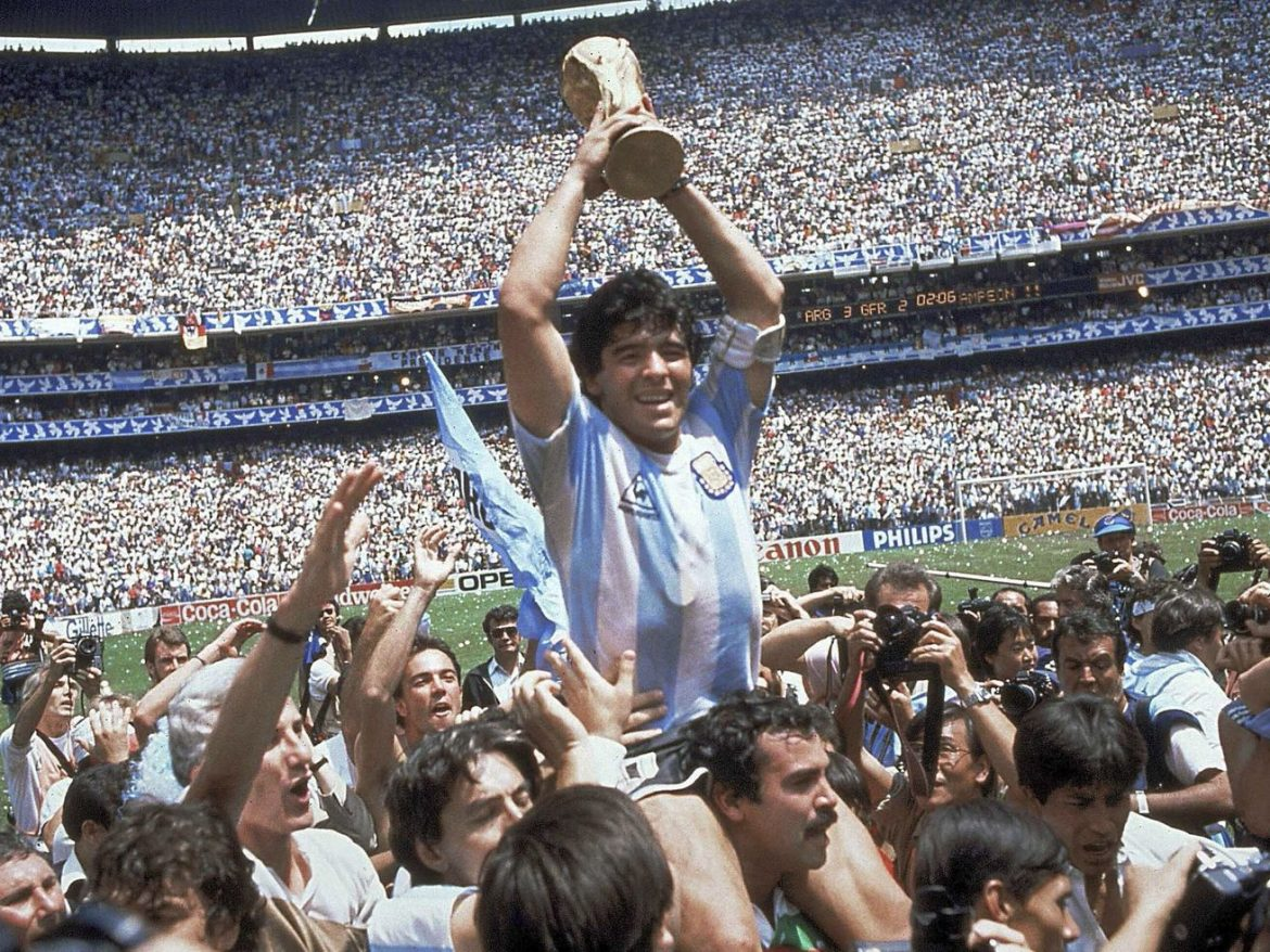 Soccer legend Diego Maradona dies at age 60