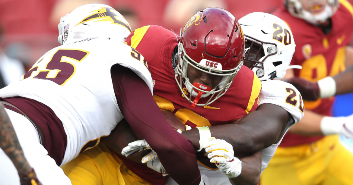 Markese out of Stepp? Clay Helton blames 'rust' for running back's mistakes