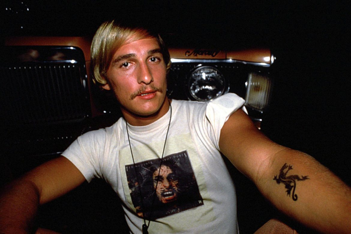 How Matthew McConaughey's 'Dazed and Confused' role launched his career