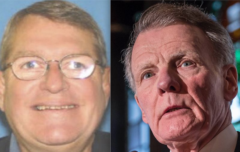 Mike McClain, left; Mike Madigan, right.