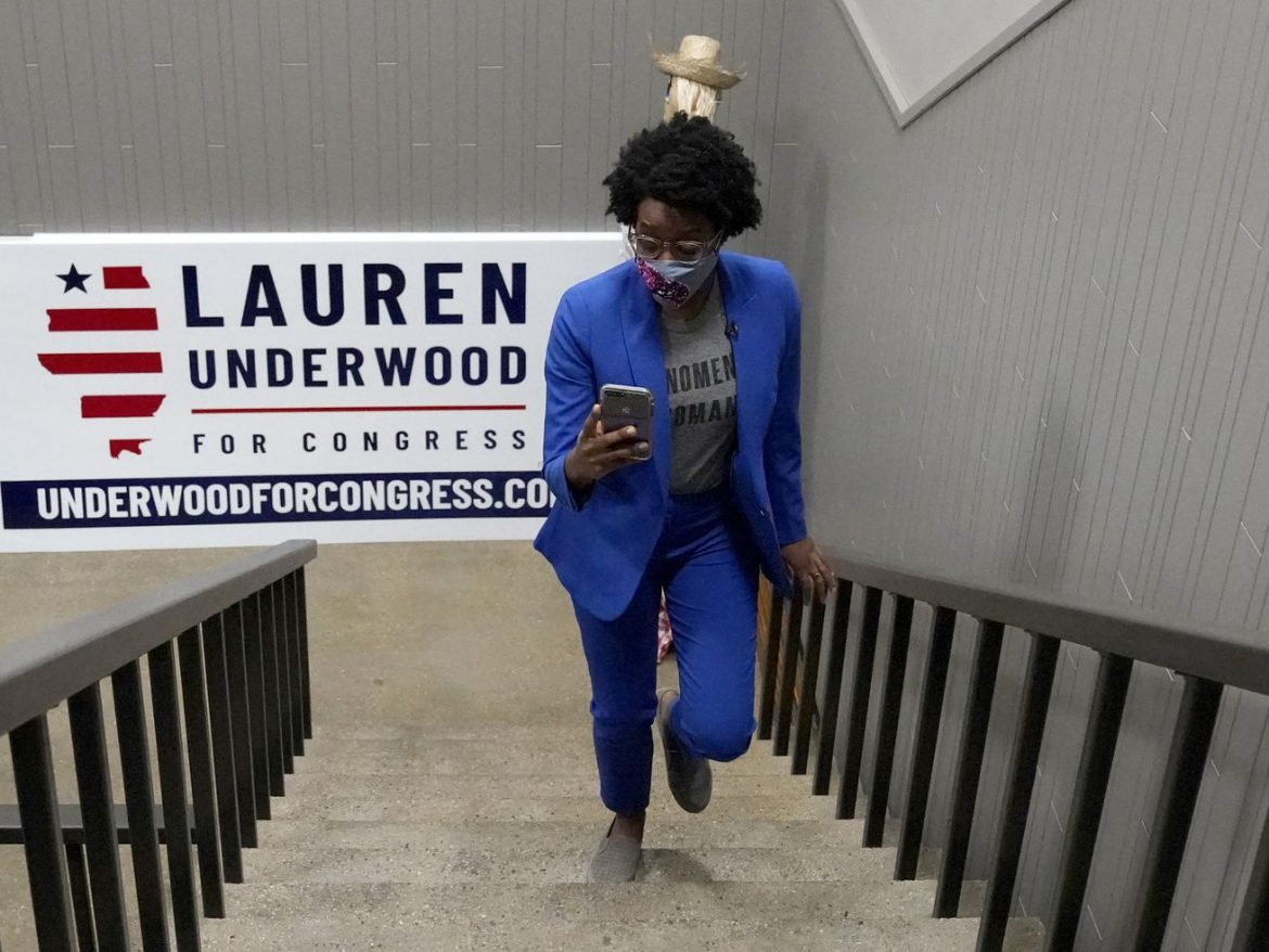 Lauren Underwood increases lead over Jim Oberweis in Illinois Congress contest: up by 3,524 votes