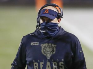 Hot seat heats up for Bears coach Matt Nagy after humiliating 41-25 loss to Packers