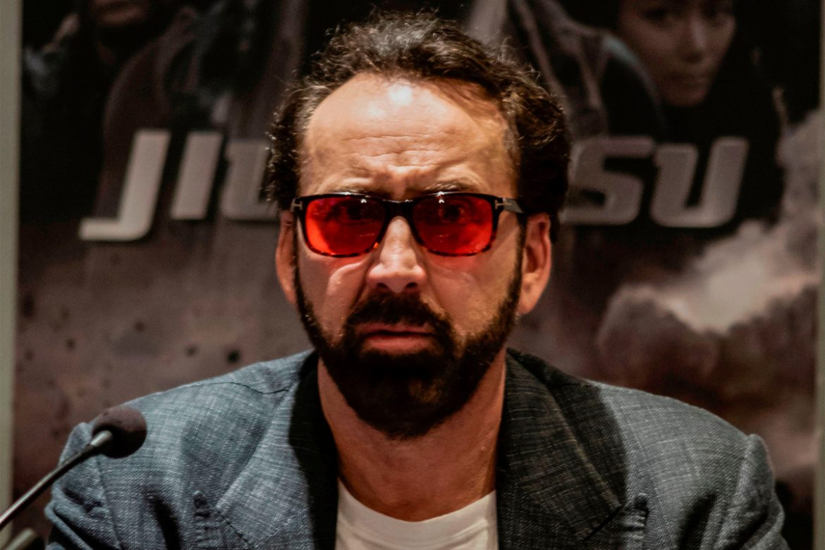 Nicolas Cage's martial arts moves in new movie are the real deal