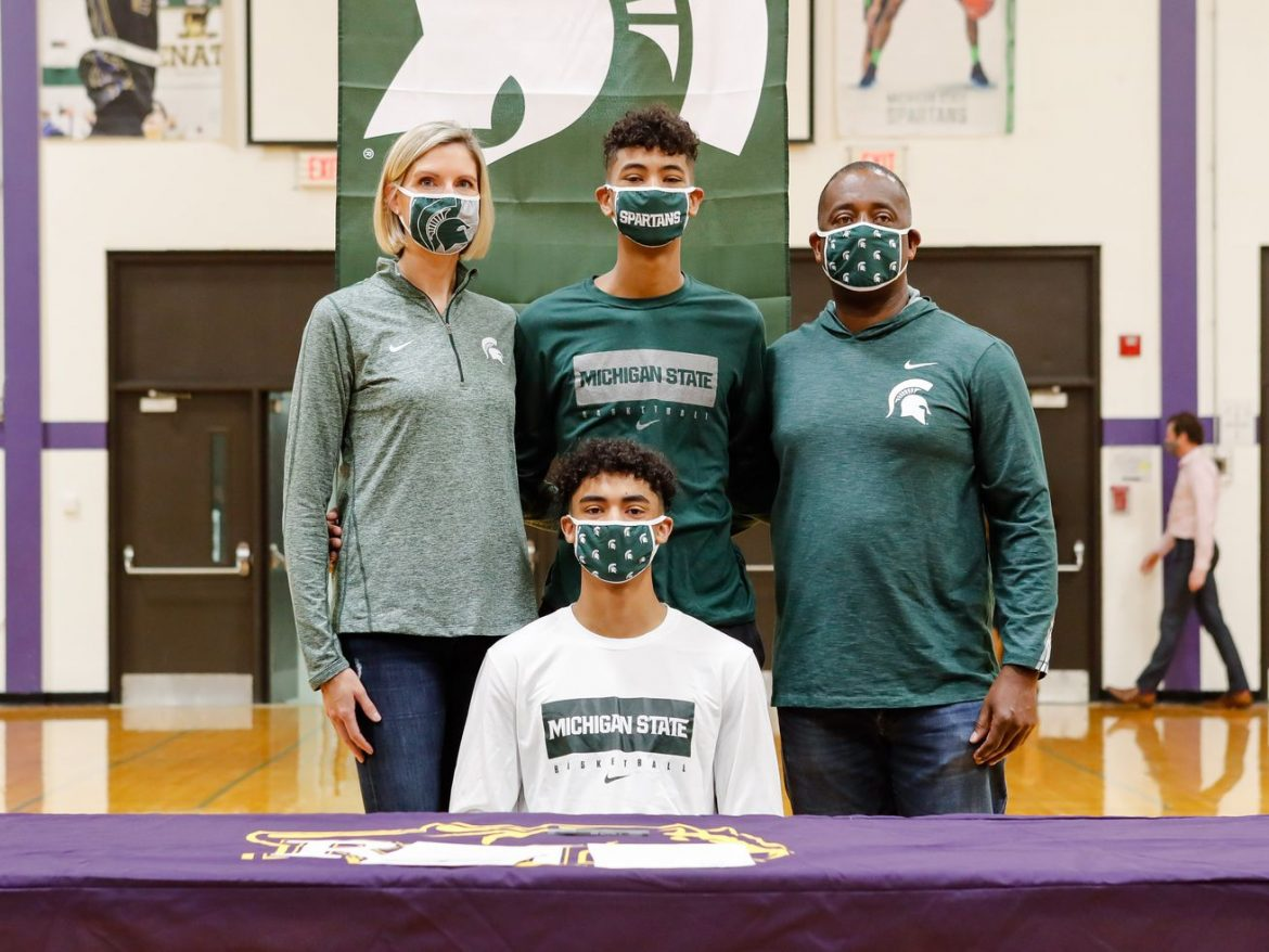 Max Christie, the superstar that stayed true to his hometown, signs with Michigan State