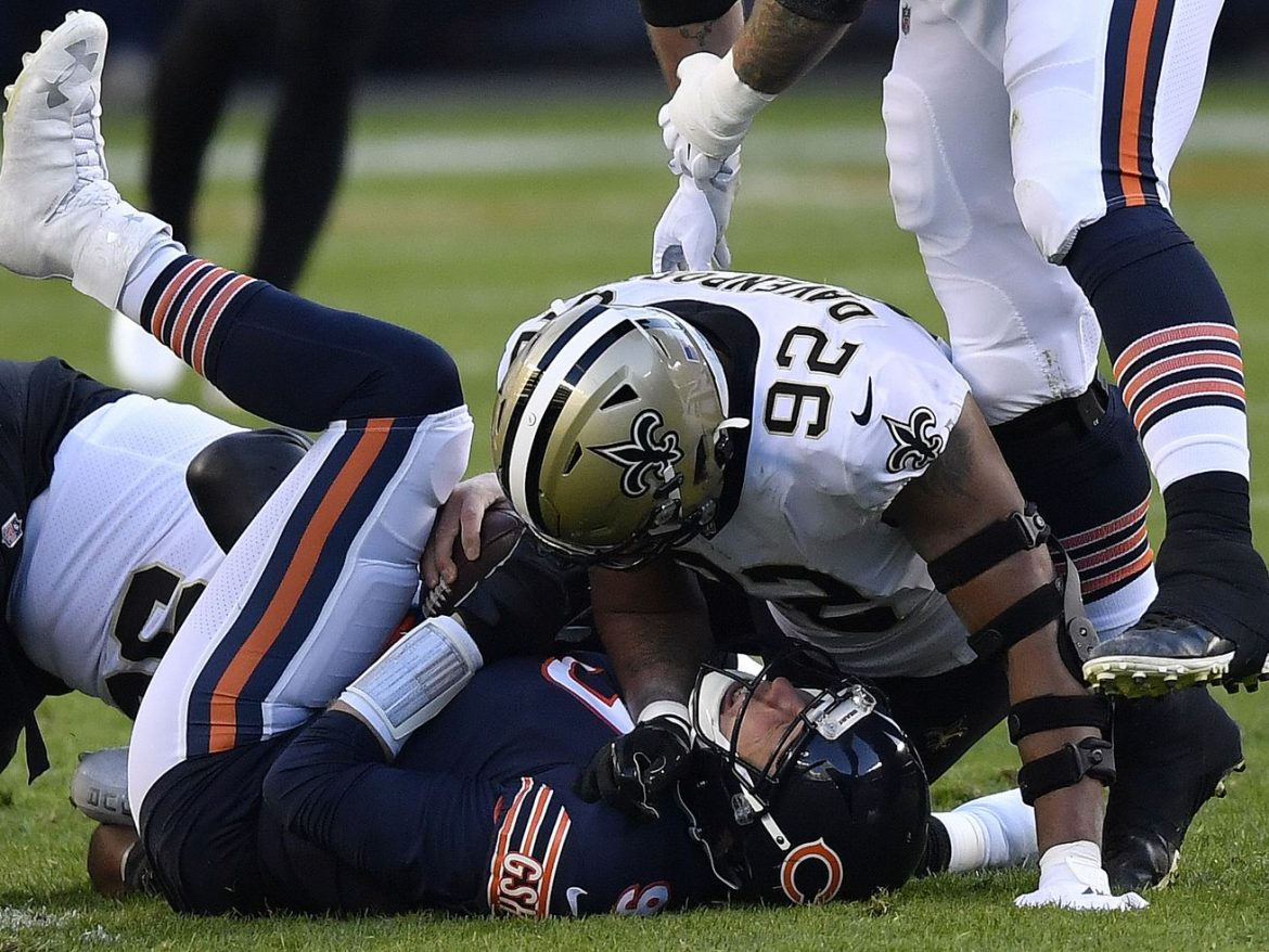 Final score: Saints 26, Bears 23 as game of wild swings goes to overtime