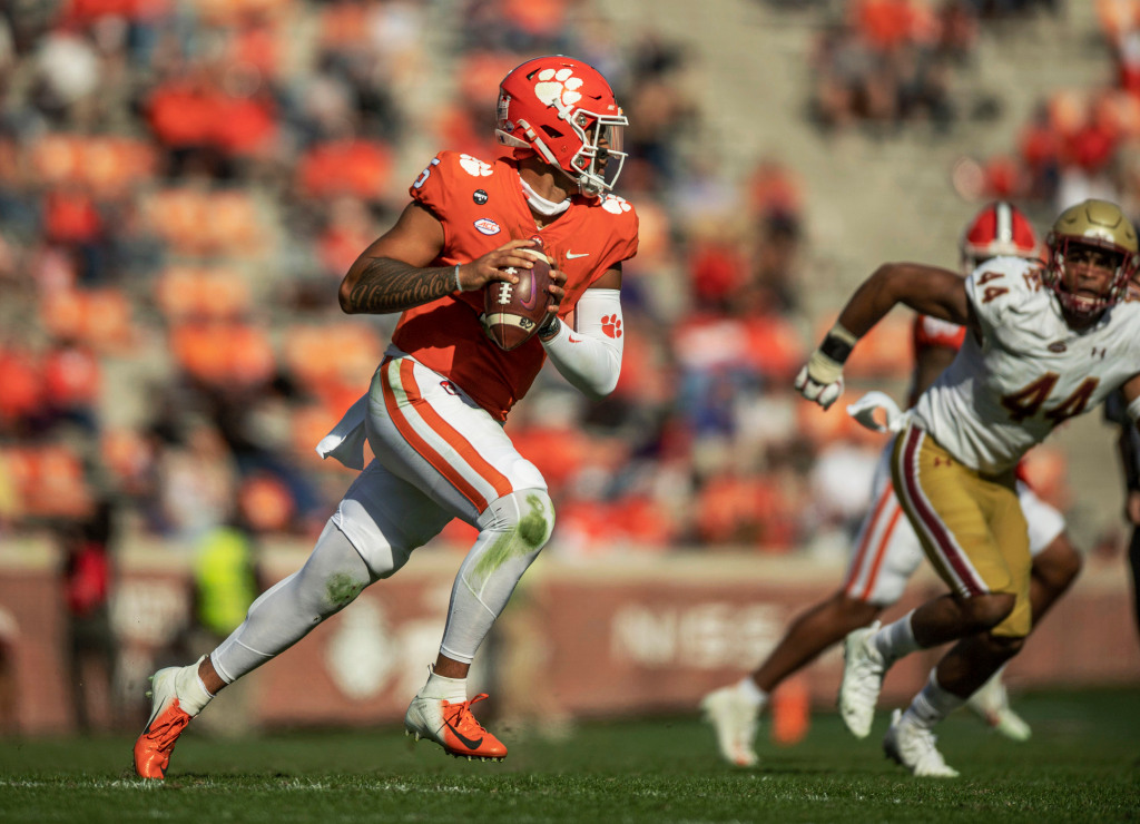 DJ Uiagalelei rallies No. 1 Clemson to victory over Boston College