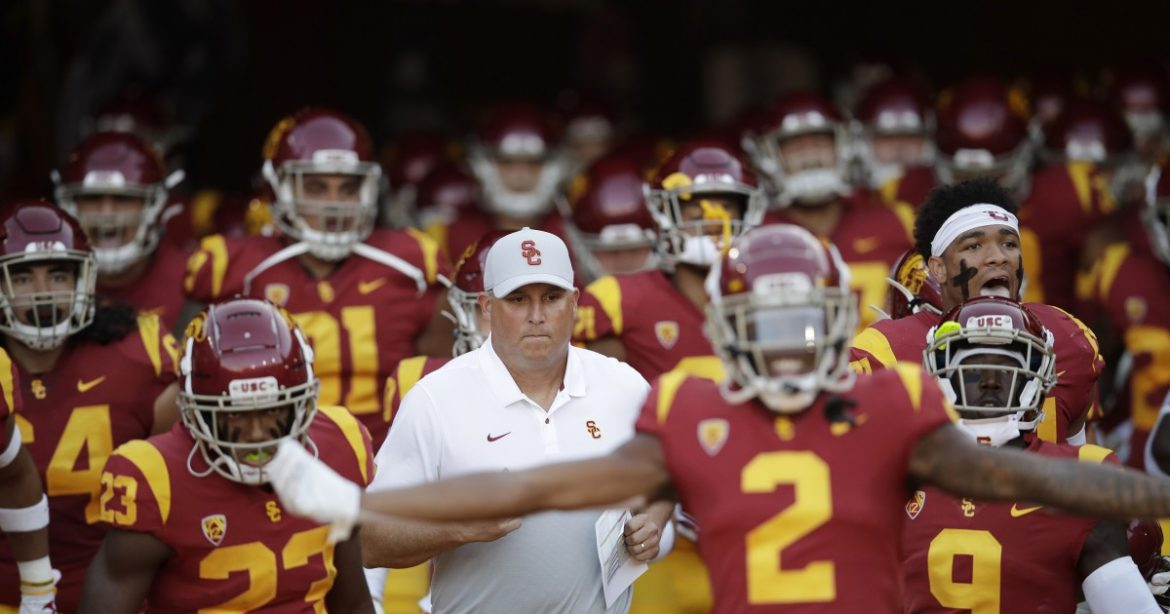 USC's most unusual season opener could get a rare visitor: rain