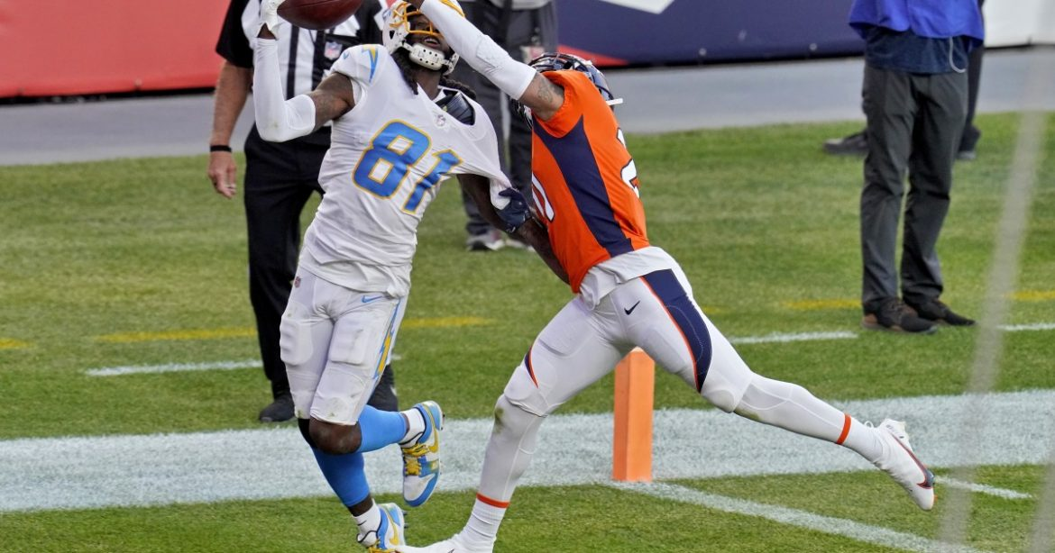 Chargers' 31-30 loss to the Denver Broncos by the numbers