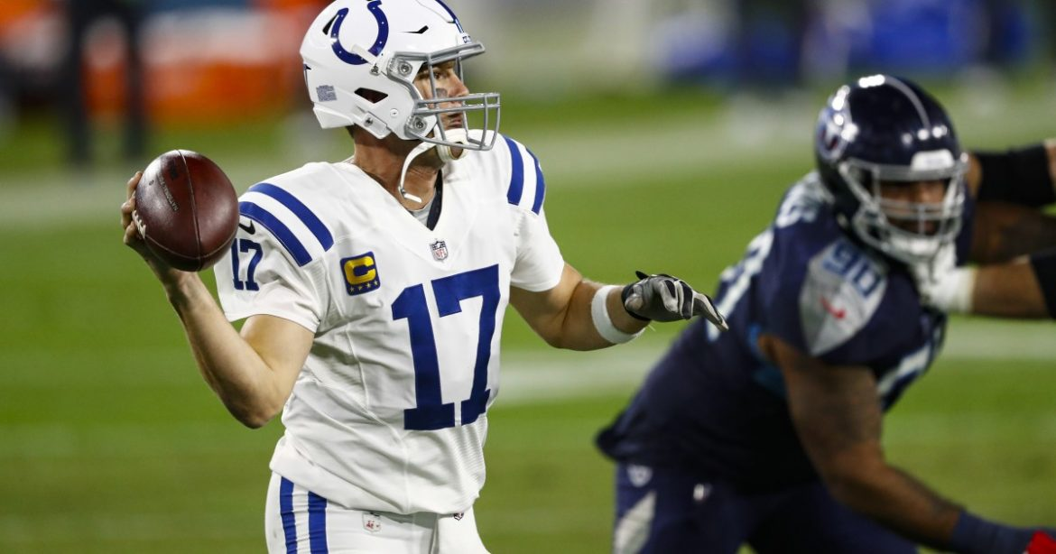 NFL: Colts grab tiebreaker in AFC South by beating Titans