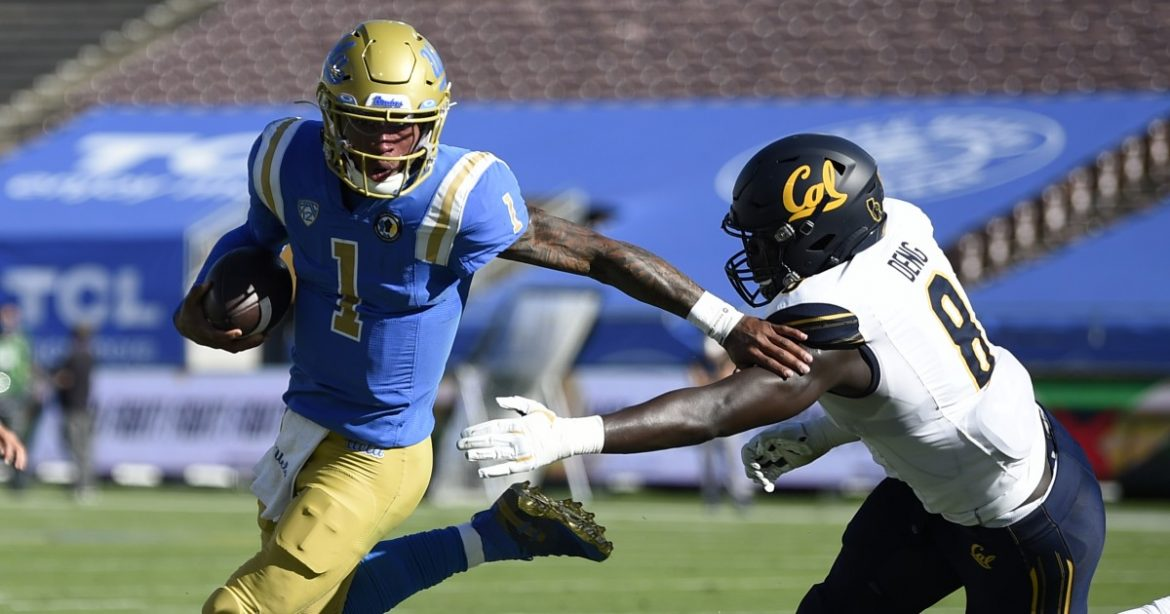 Dorian Thompson-Robinson's performance makes it a weekend to remember for UCLA