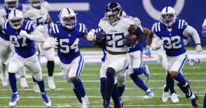 NFL roundup: Derrick Henry leads Titans past Colts; Patriots beat Cardinals