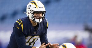 Chargers' 27-17 loss to Buffalo Bills by the numbers
