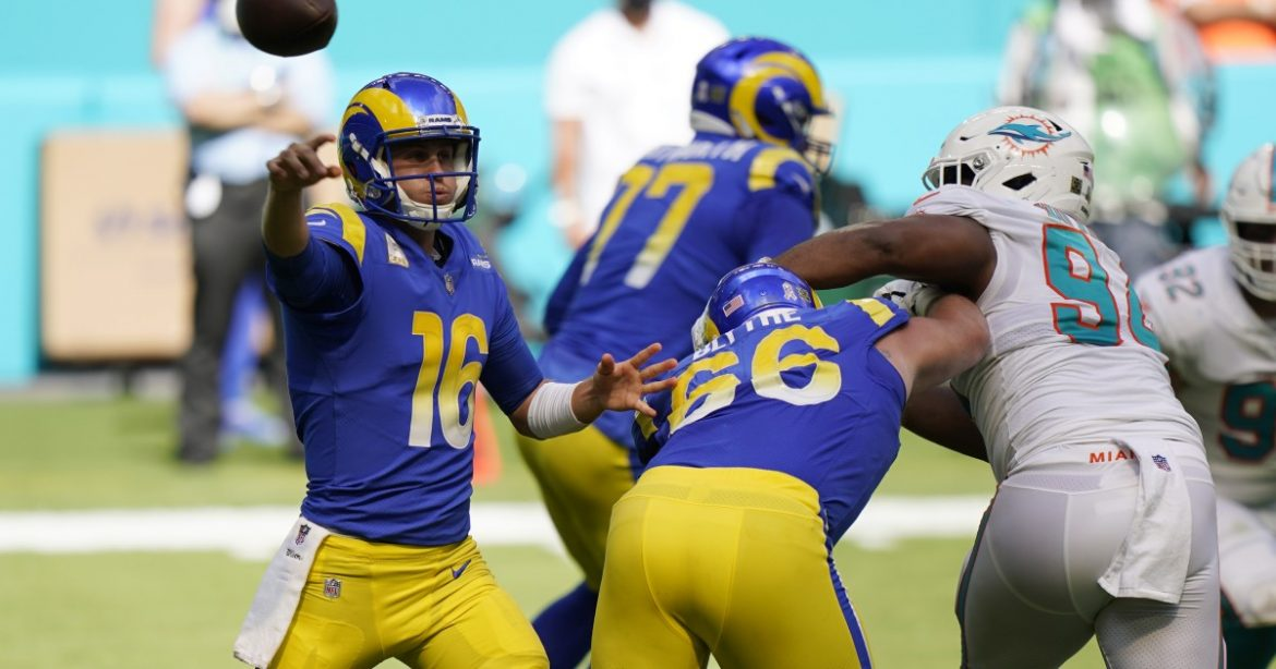 A recharged Jared Goff hopes to get spark back when Rams play host to Seahawks