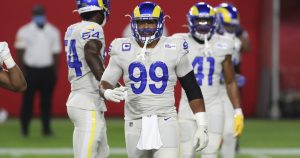 A first for Rams' Aaron Donald — no tackles in two straight games