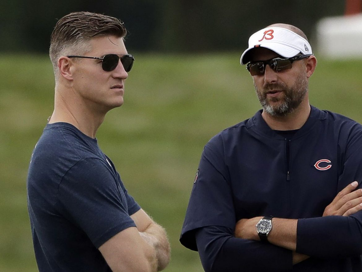 Shoddy construction: Bears GM Ryan Pace's mistakes on offense necessitate rebuild