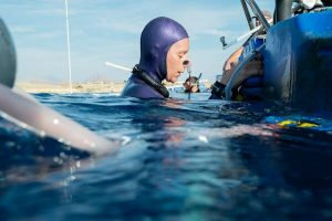 She Dove More Than 300 Feet Under the Sea. Can She Go Deeper?