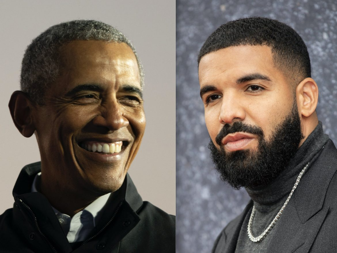 Drake as Obama? Ex-president says rapper has 'stamp of approval' to play him in biopic