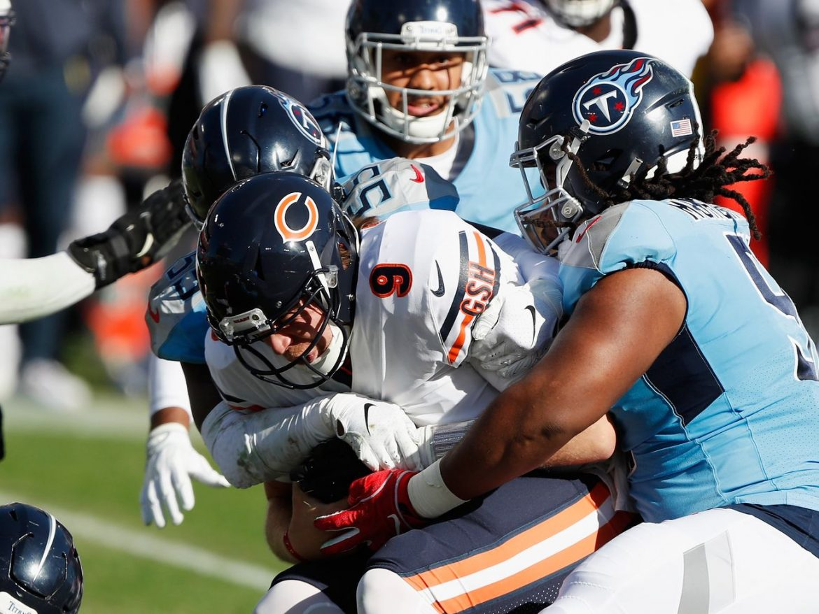 Three takeaways from the Bears' loss to the Titans