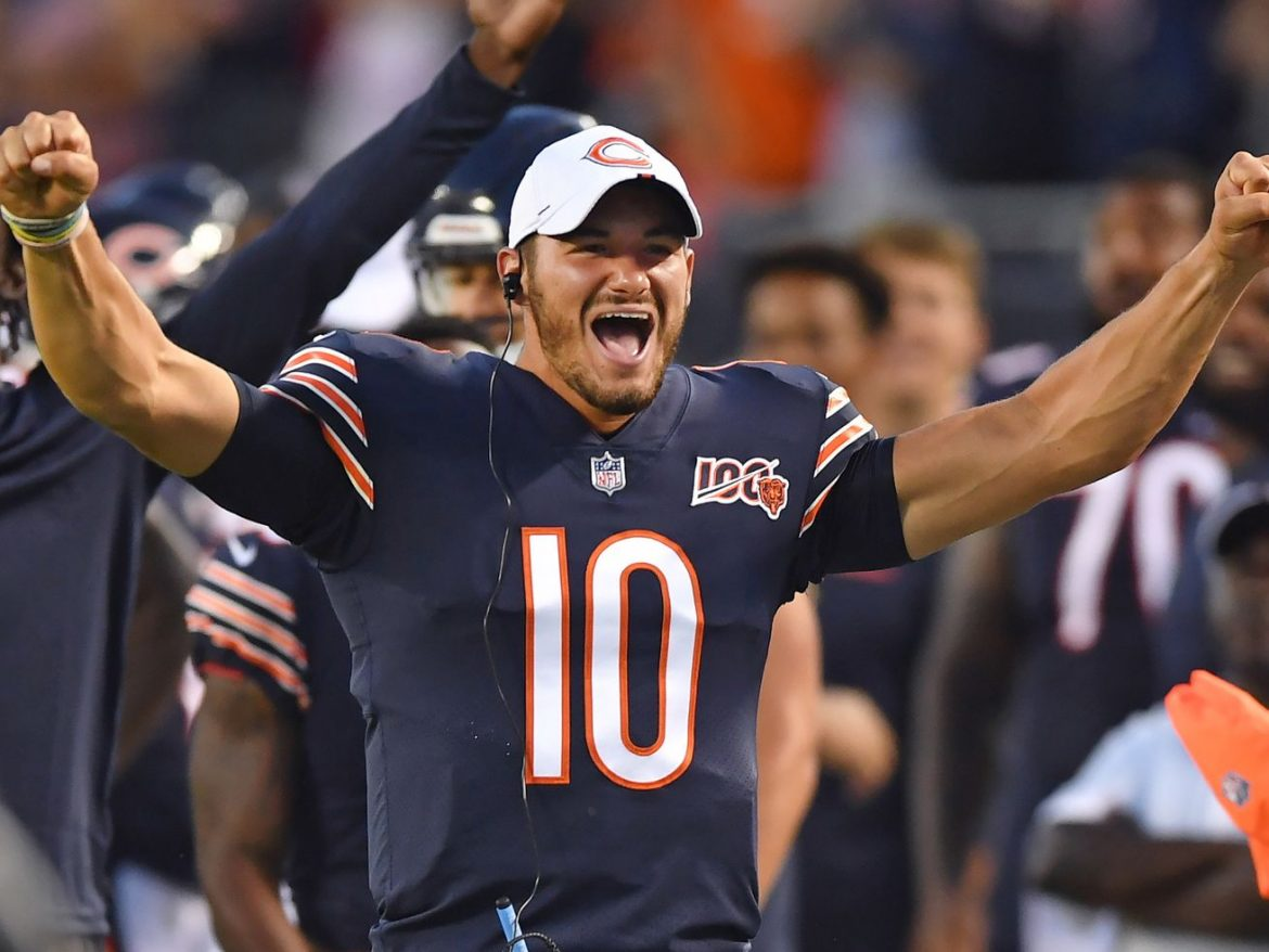 Back to Mitch? Trubisky tempting for Bears even if Nick Foles is healthy