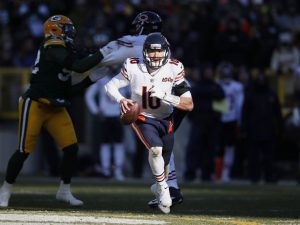 Matt Nagy talks around it, but going back to QB Mitch Trubisky is right call for Bears