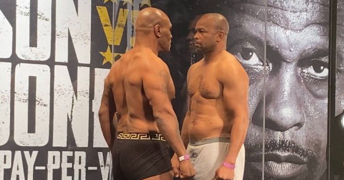 Mike Tyson and Roy Jones Jr. vow violence despite fight being billed as exhibition