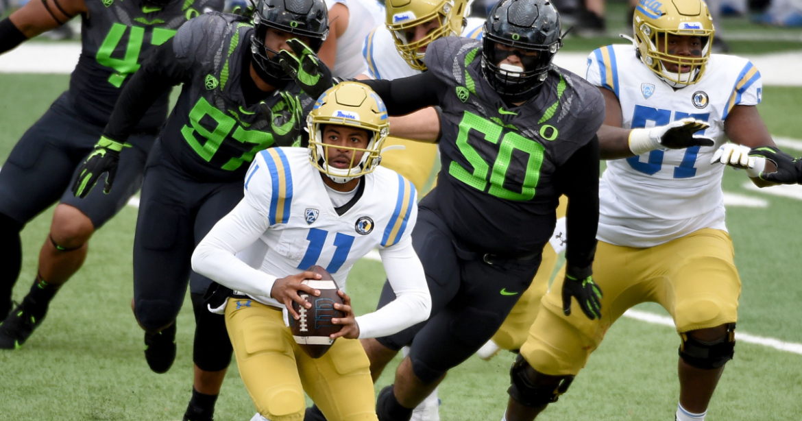 UCLA's Chase Griffin stays calm and carries on prepping for another potential start