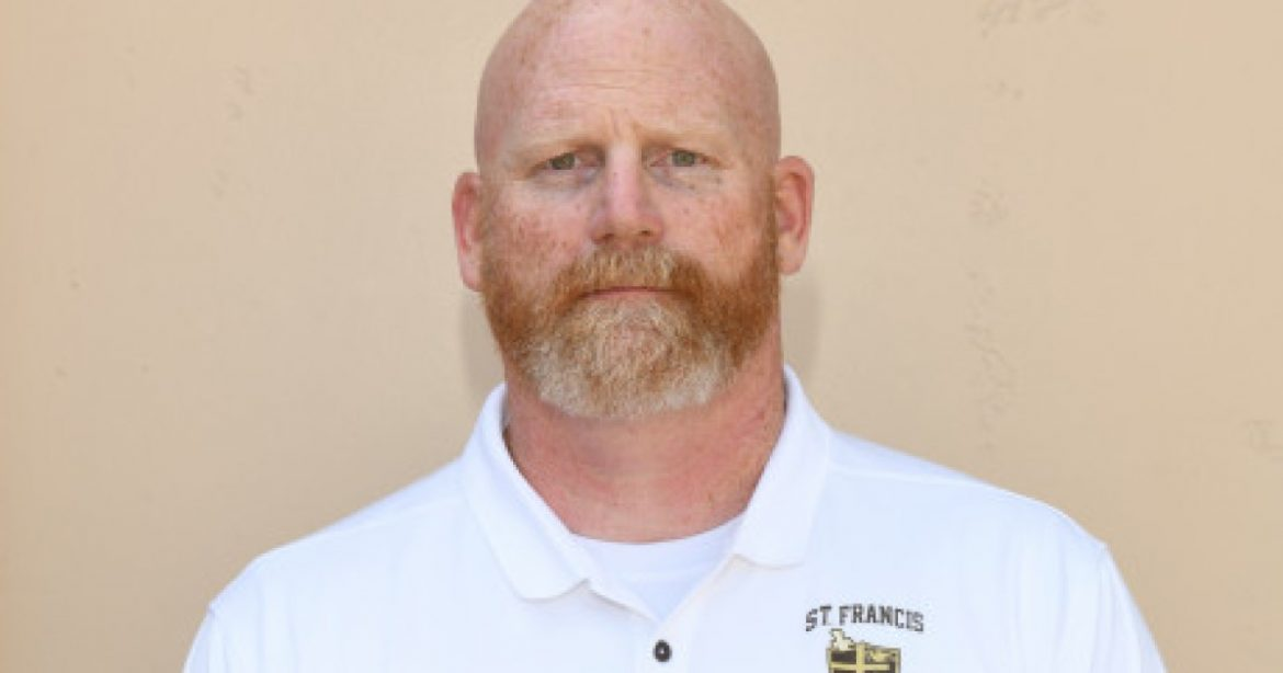 Ted Corcoran is named interim football coach at St. Francis