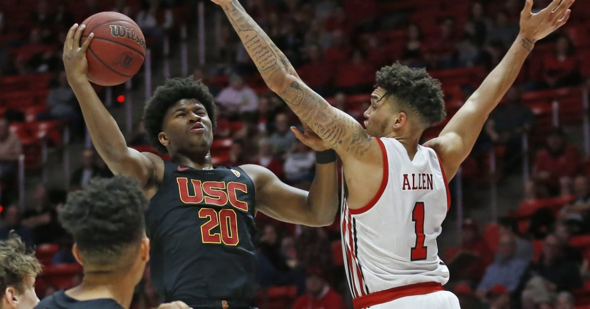 USC basketball is counting on Ethan Anderson to lead the way