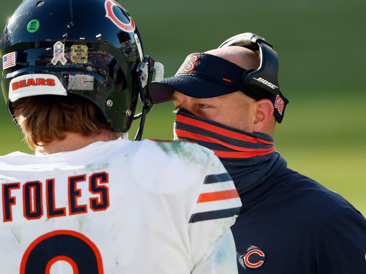 Why the time — and timing — is right for Matt Nagy to give up calling plays