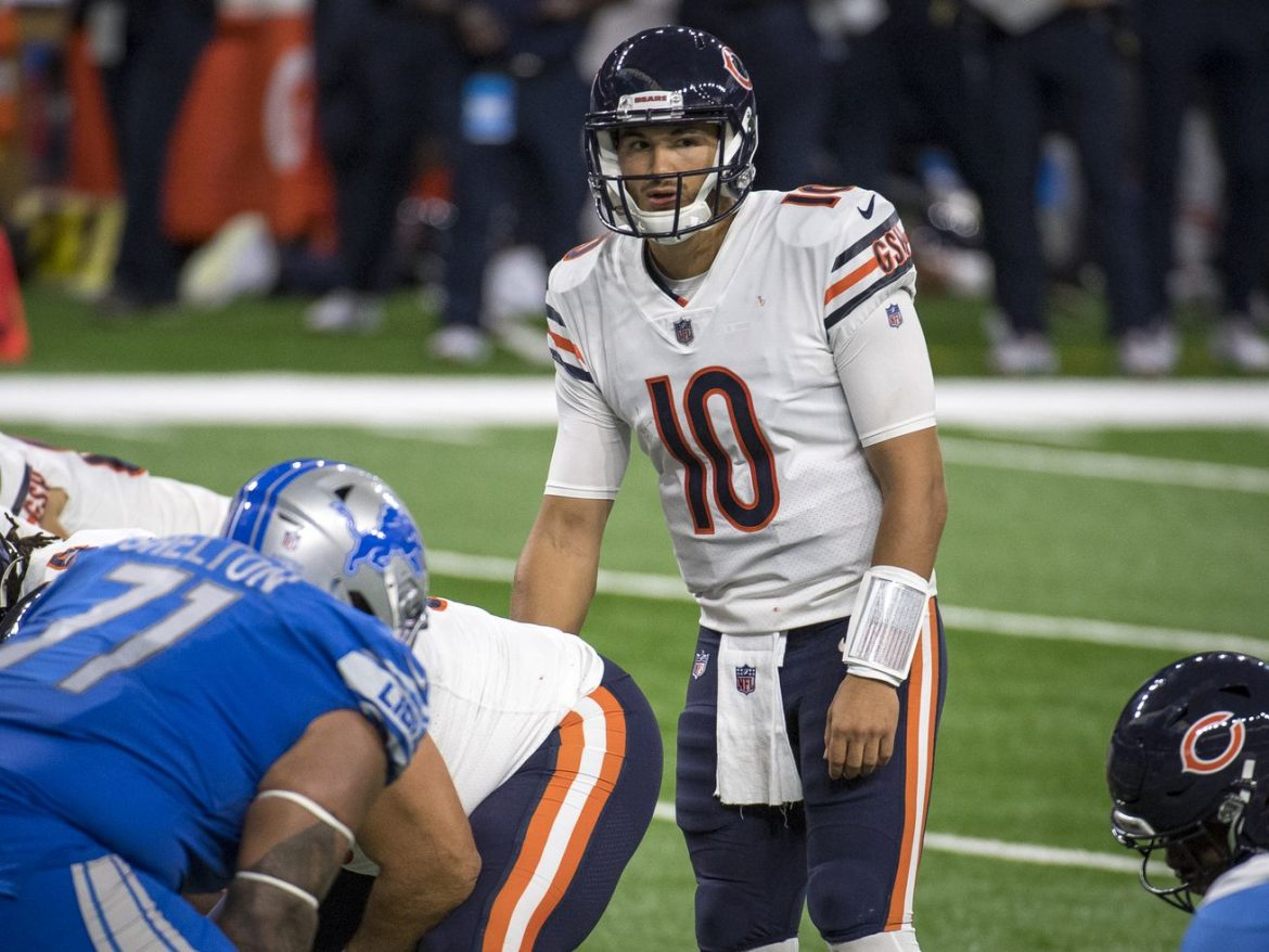 Mitch Trubisky's sure thing vanished when Lions fired Matt Patricia