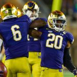 Shaun Crawford is Notre Dame's olden domer