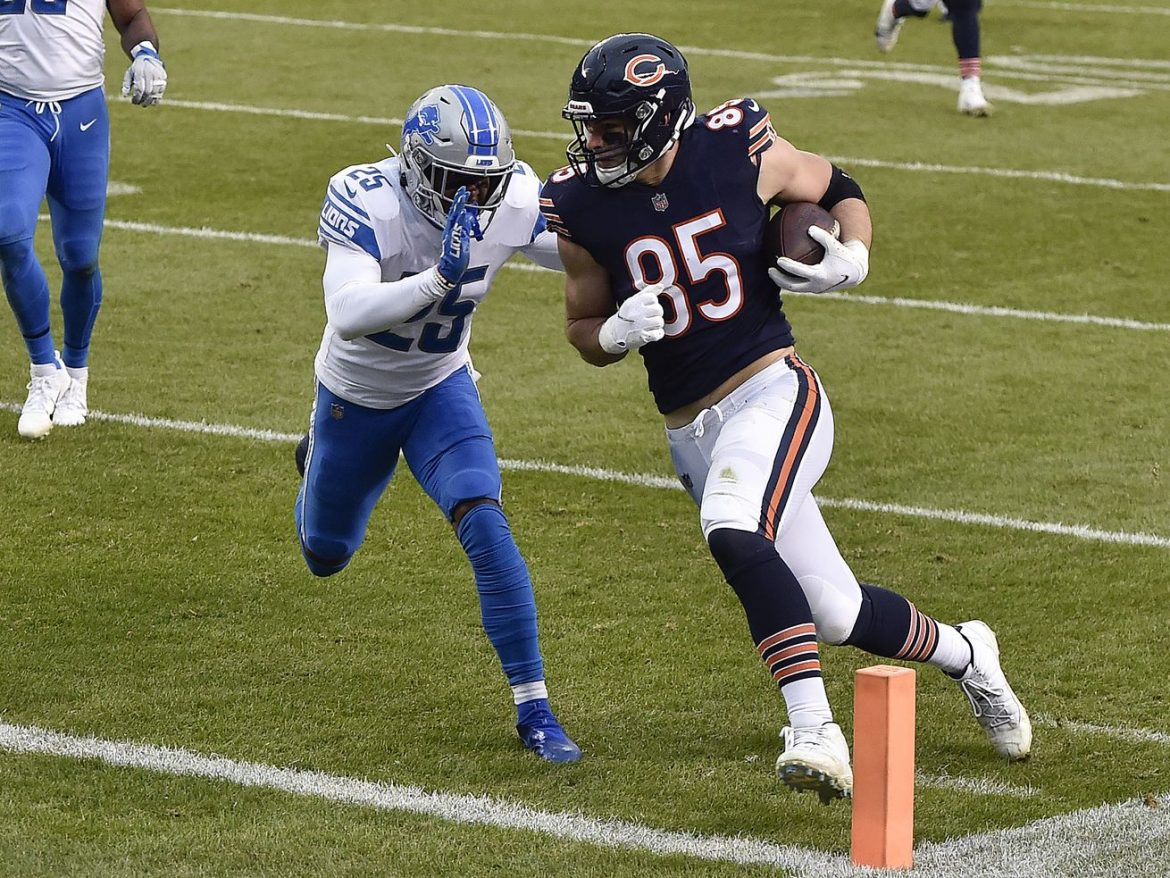 Ray of hope? Cole Kmet catching on for Bears