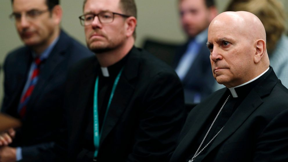 9 new Catholic priests named in Colorado sex abuse report