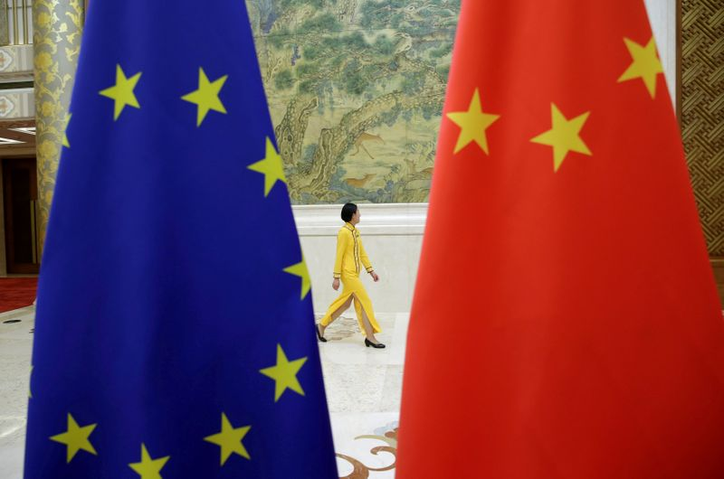 China, EU aim for investment pact by year-end, Germany says