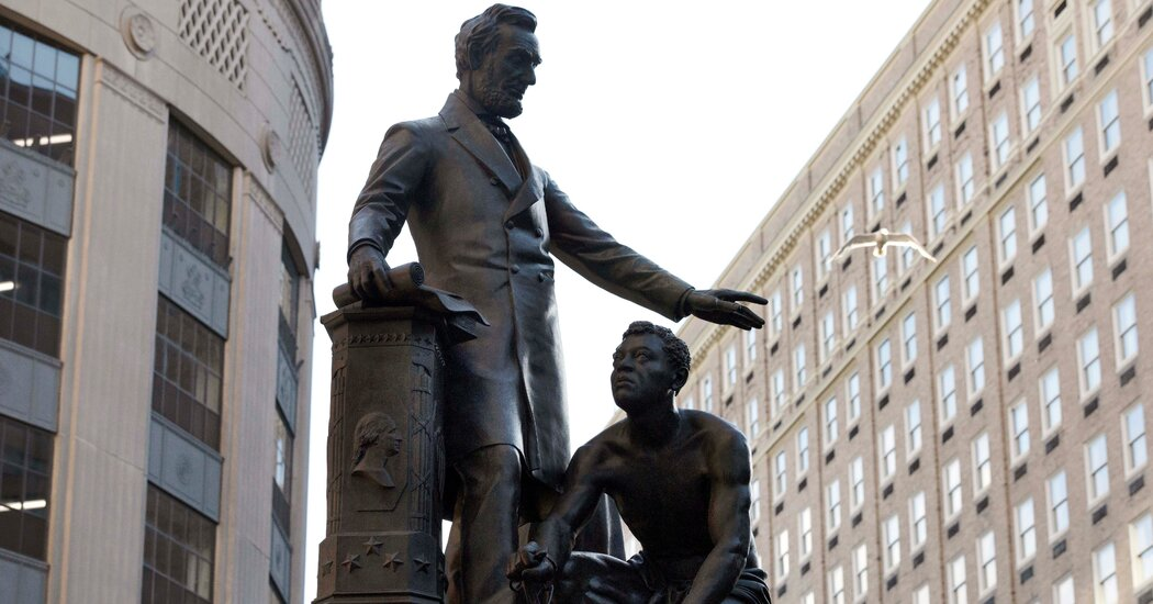 Boston Removes Statue of Formerly Enslaved Man Kneeling Before Lincoln