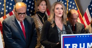 How Is Trump's Lawyer Jenna Ellis 'Elite Strike Force' Material?
