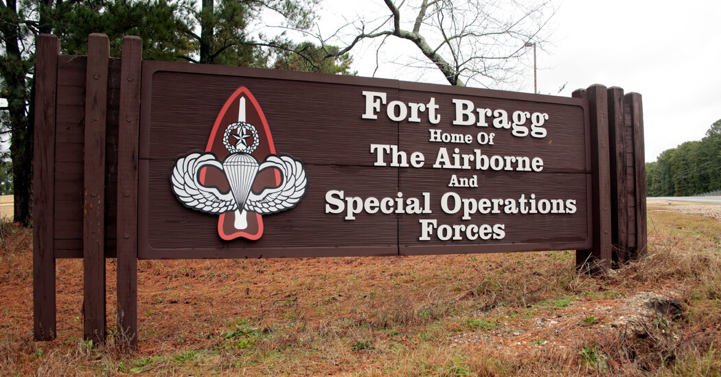 Army Investigates Deaths of Green Beret and Veteran at Fort Bragg