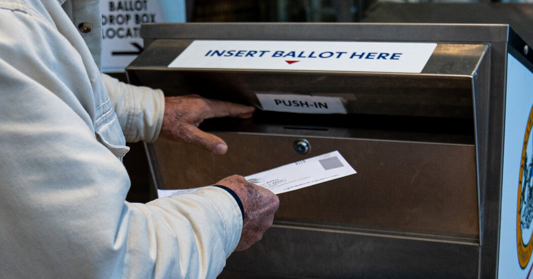 As Trump Disputes Election Results, Republicans Target Voting by Mail