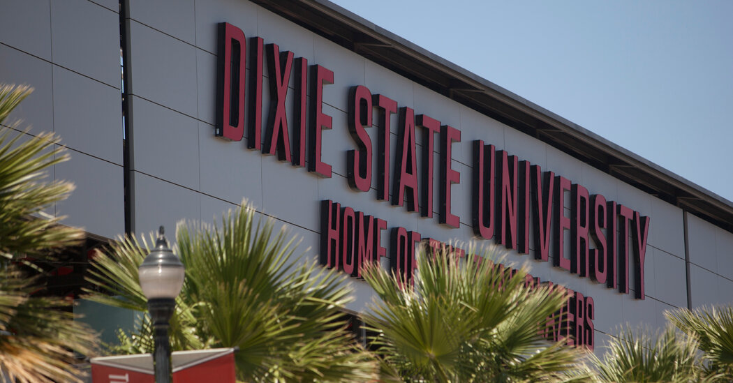 Dixie State University in Utah Says It's in Need of a Name Change